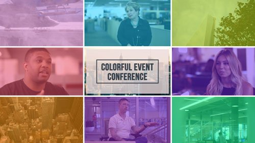 Colorful Event Promo - Project for After Effects (Videohive)