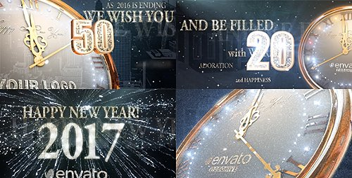 2017 New Year Countdown - Project for After Effects (Videohive)