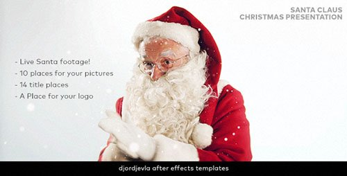 Santa Claus Christmas Presentation - Project for After Effects (Videohive)