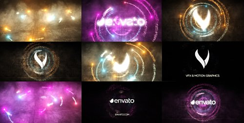 Particles Energy - Project for After Effects (Videohive)