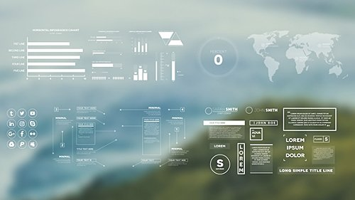Simple Infographics - Project for After Effects (Videohive)