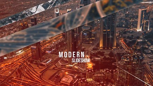 Modern Slideshow - Project for After Effects (Videohive)
