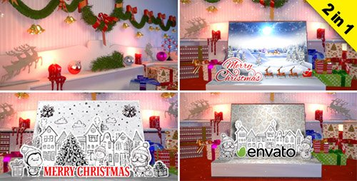 Christmas Book Creator - Project for After Effects (Videohive)