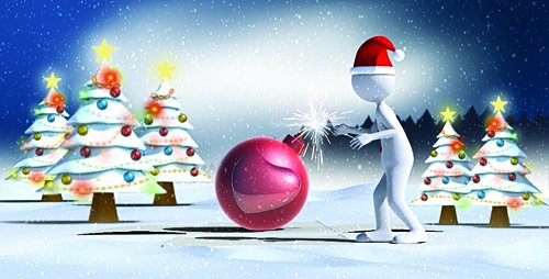 Christmas Love Bomb - Project for After Effects (Videohive)