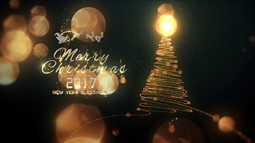 Christmas Particle Logo - Project for After Effects (Videohive)