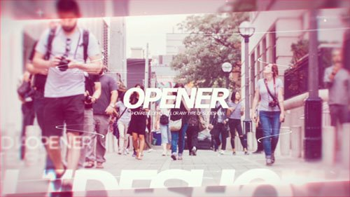 Modern Opener PRX - Project for After Effects (Videohive)