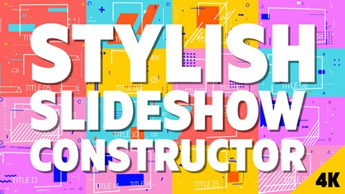 Stylish Slideshow Constructor - Project for After Effects (Videohive)