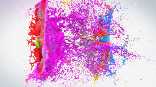 Colorful Splash Logo 18279130 - Project for After Effects (Videohive)