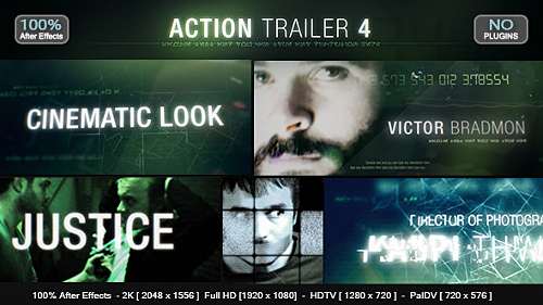 Action Trailer 4 - Project for After Effects (Videohive)