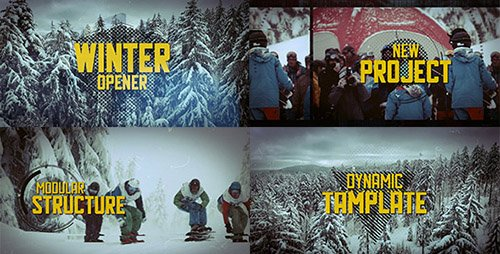 Extreme Sport Promo 19141196 - Project for After Effects (Videohive)