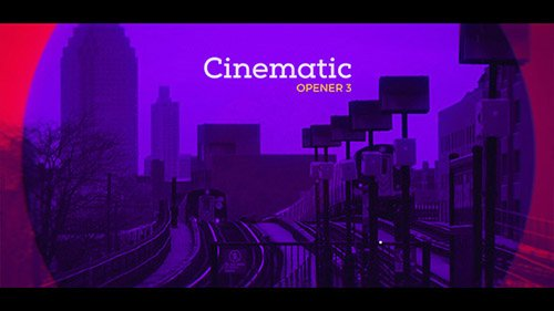 Cinematic Opener 3 - Project for After Effects (Videohive)