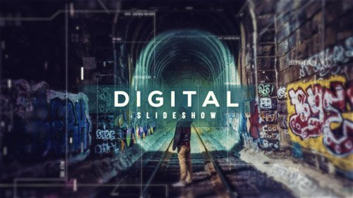 Digital Parallax Slideshow | Opener - Project for After Effects (Videohive)