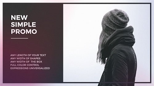 Simple Promo 19413990 - Project for After Effects (Videohive)
