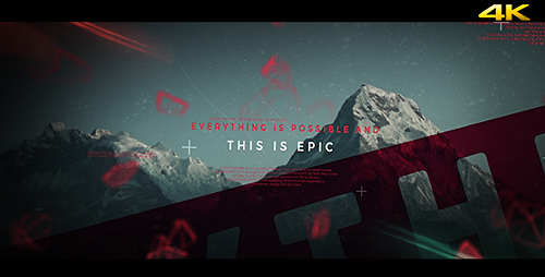 This is Epic - Cinematic Slideshow - Project for After Effects (Videohive)