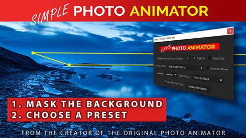 Simple Photo Animator - After Effects Scripts +AE (Videohive)