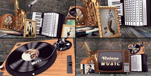 Vintage Music Opener - Project for After Effects (Videohive)