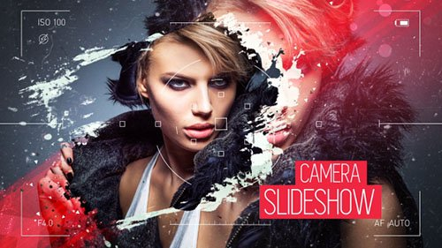 Camera Viewer Slideshow - Project for After Effects (Videohive)