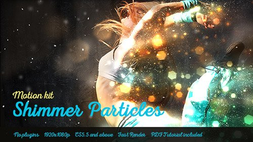 Shimmer Particles Motion Kit - Project for After Effects (Videohive)