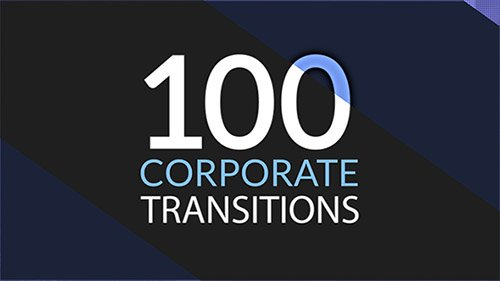 100 Corporate Transitions - Project for After Effects (Videohive)