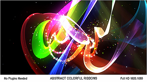 Abstract Colorful Ribbons Logo - Project for After Effects (Videohive)