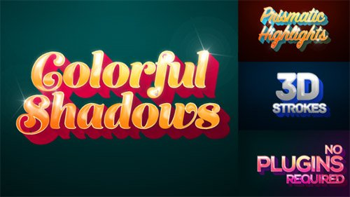 Colorful Shadows - Motion Titles Pack - Project for After Effects (Videohive)