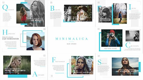 Minimalica // Blog Opener - Project for After Effects (Videohive)