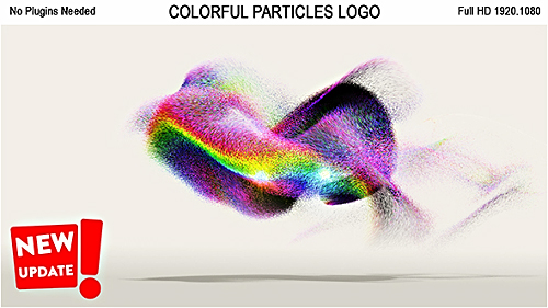 Colorful Particles Logo - Project for After Effects (Videohive)