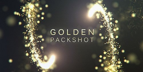 Golden Packshot - Project for After Effects (Videohive)