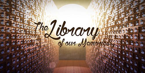 The Library of our Memories Slideshow - Project for After Effects (Videohive)