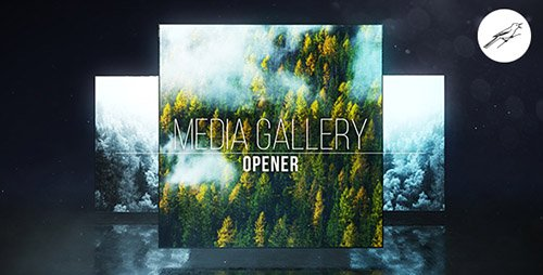 Media Gallery Opener 1 - Project for After Effects (Videohive)