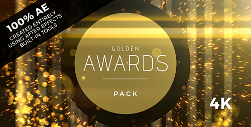 Golden Awards Event Pack - Project for After Effects (Videohive)