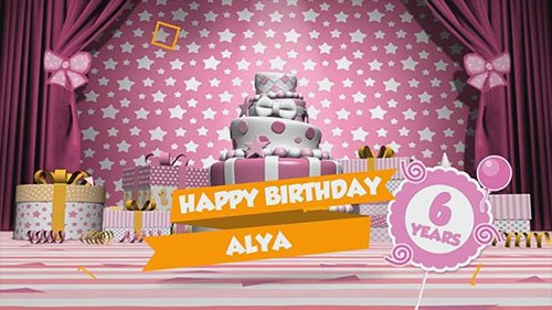 Birthday Slideshow - Project After Effects (Videohive)