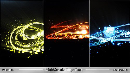 MultiStreaks Logo Pack - Project for After Effects (Videohive)