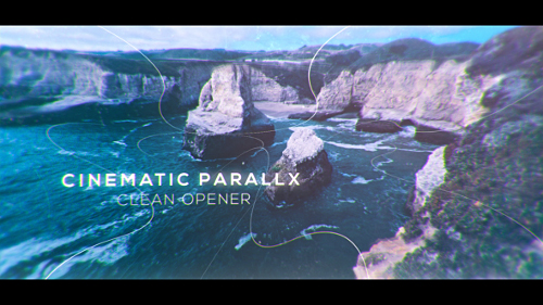 Cinematic Clean Parallax Opener | Slideshow - Project for After Effects (Videohive)
