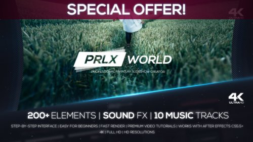 Parallax World - Professional Parallax Slideshow Creator - Project for After Effects (Videohive)