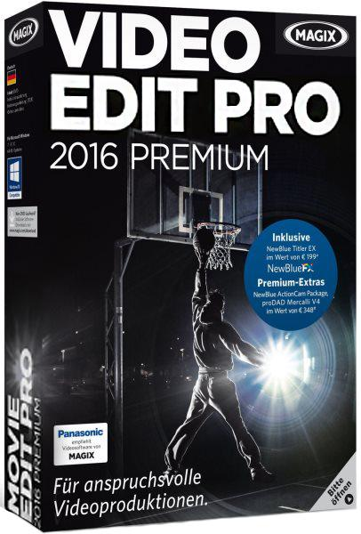 MAGIX Movie Edit Pro 2016 Premium 15.0.0.114 + Content (2017/RUS/ENG)