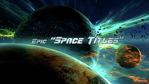 Epic Space Titles - Project for After Effects (Videohive)