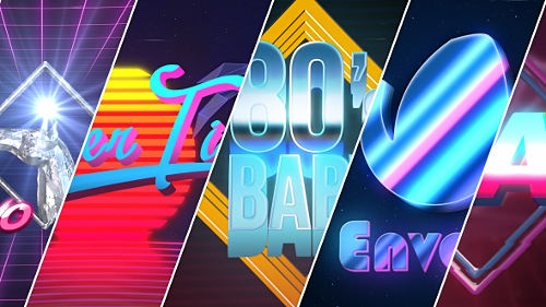 80's Baby | VHS Logo-Titles Opener - Project for After Effects (Videohive)