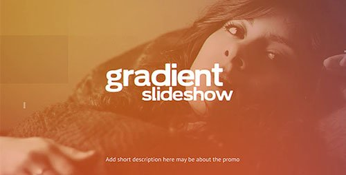 Gradient Slideshow - Project for After Effects (Videohive)