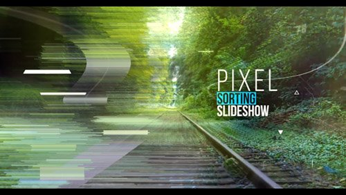 Inspire Pixel Sorting Slideshow - Project for After Effects (Videohive)