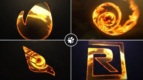 Fire Vortex Logo - Project for After Effects (Videohive)