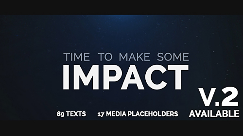 Cinematic Typo Intro - Project for After Effects (Videohive)