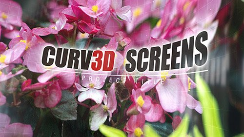 Curv3D Screens - Project for After Effects (Videohive)