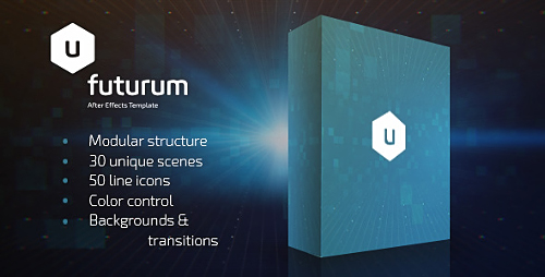 Futurum Presentation Pack - Project for After Effects (Videohive)