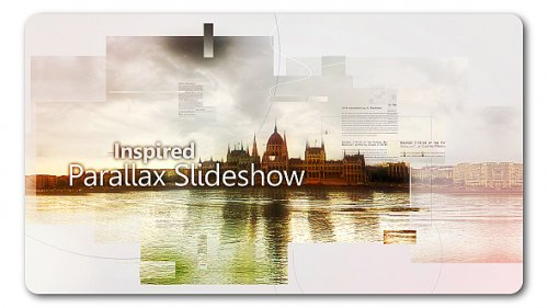 Inspired Parallax Slideshow - Project for After Effects (Videohive)