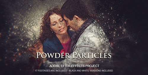 Powder Particles - Project for After Effects (Videohive)