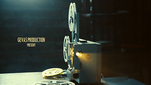 Vintage Memories Film Projector - Project for After Effects (Videohive)