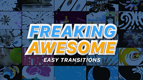 Freaking Awesome Transitions - Project for After Effects (Videohive)