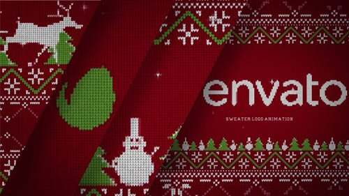 Christmas Sweater Logo - Project for After Effects (Videohive)