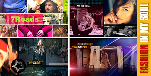 Fashion in My Soul - Project for After Effects (Videohive)